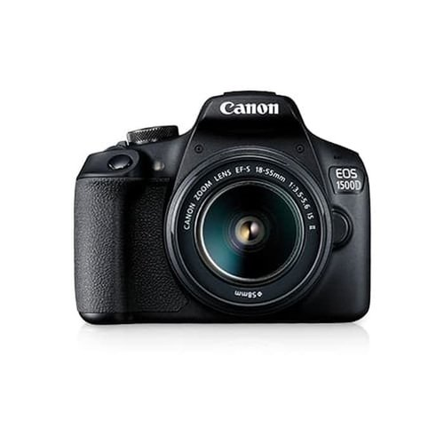 CANON EOS 1500D with Lens 18-55mm IS II Kit