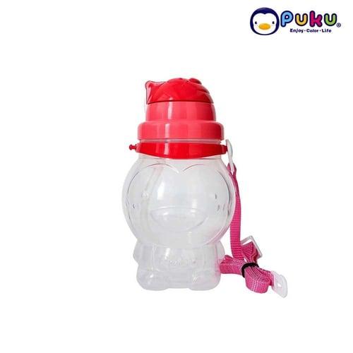 Puku Botol Minum Anak 850 ML Pink- BPA FREE P14616