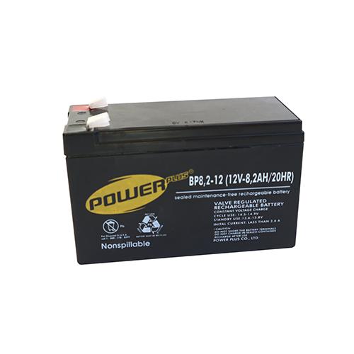 POWERPLUS Baterai UPS 12v8,2ah ( Battery UPS VRLA SLA )