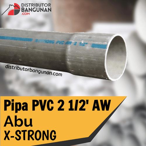Pipa Pvc 2 1per2 Aw Abu X-STRONG