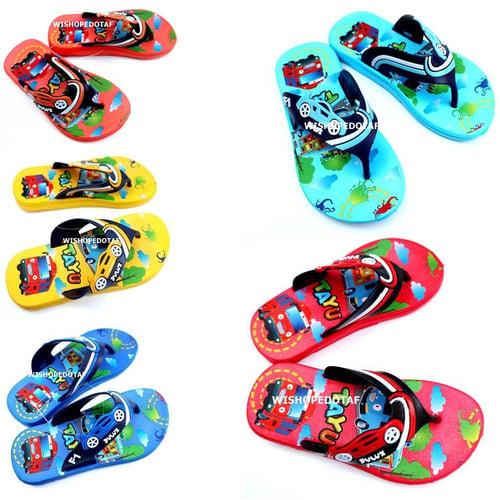 Sandal Anak Karet Strap Tayu 24-29