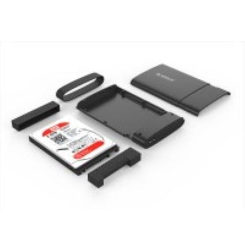 ORICO 2538U3 2.5 inch Tool Free USB3.0 Hard Drive Enclosure - ORANGE