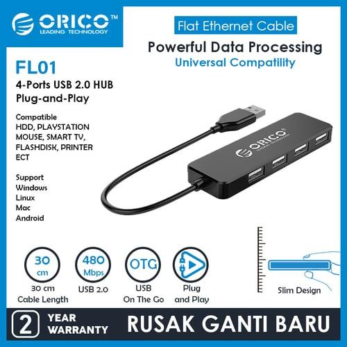 ORICO USB2.0 HUB 4-Port - FL01