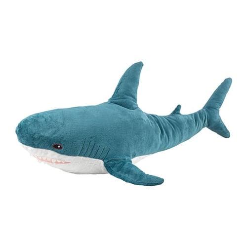BLAHAJ Boneka Ikan Hiu Abu Great White Shark - kids Toys