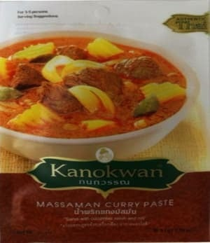 Kanokwan Pasta Bumbu Kari (Massaman Curry Paste) 50 gr