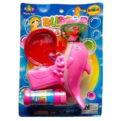 Bubble Gun Ikan Dolphin 4 Mata Pistol Gelembung Busa Sabun - Kids Toys