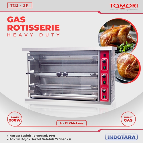 Gas Rotisserie Tomori - TGJ-3P
