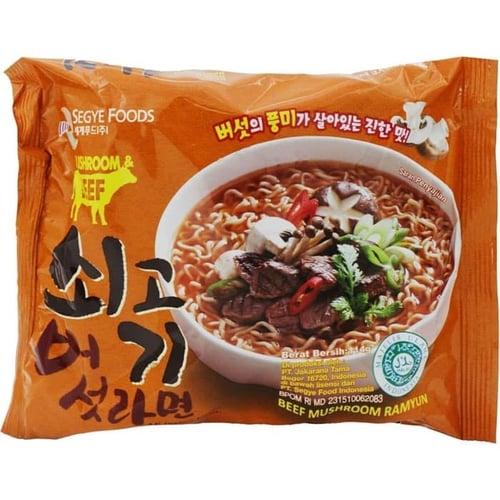Beef Mushroom Ramyun Noodles 114gr