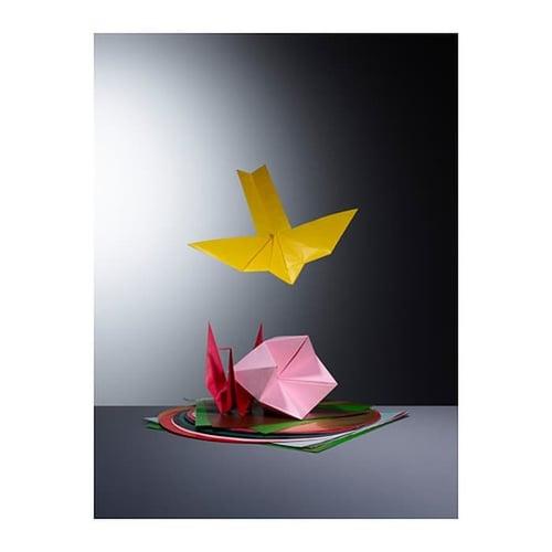 LUSTIGT Kertas Origami Lipat Beragam Warna Bentuk - Kids Toys