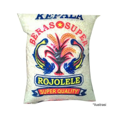CAP ROJOLELE Beras Super Quality 5 Kg