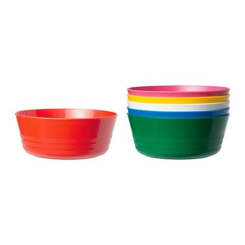 KALAS Mangkuk Mangkok Makan Anak Plastik Aneka Warna - Kids Toys