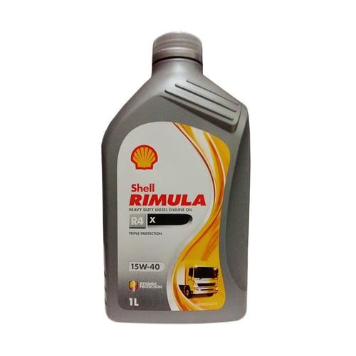 SHELL RIMULA R4X SAE 15W-40 Liter 12x1L