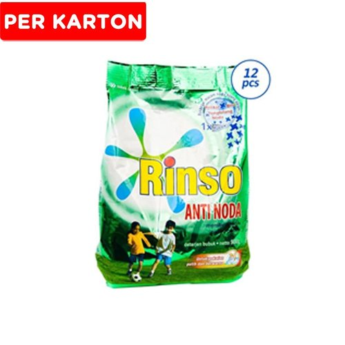 RINSO Anti Noda Deterjen 900 g 12 pcs