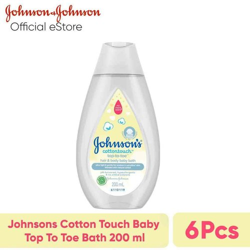 JOHNSONS Cotton Touch Baby Top To Toe Bath 200 ml