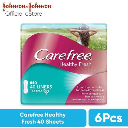 CAREFREE Healthy Fresh 40 Sheets
