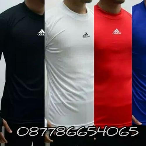 Baju Manset Bola Pria Panjang Baju Sport Panjang Olahraga Sport Nike