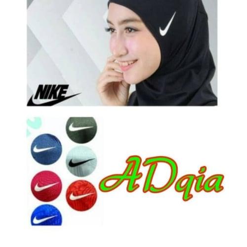 Kerudung Olah Raga Hijab Sport Nike