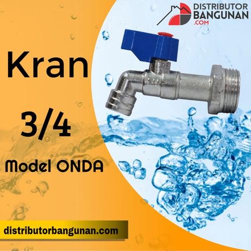 Kran 3/4  Model Onda VIPER