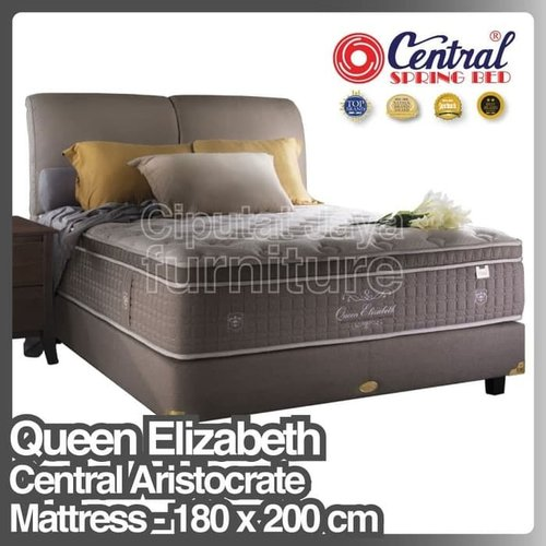 Spring Bed Queen Elizabeth Divan Sandaran Manson