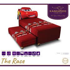 Spring bed 2 in 1 race by Kangaroo
