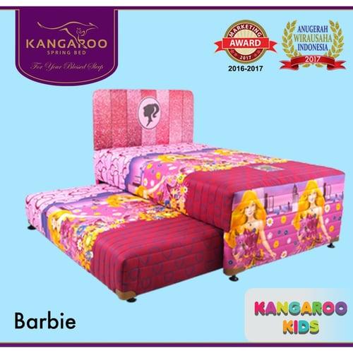 Spring bed 2 in 1 Barbie by Kangaroo