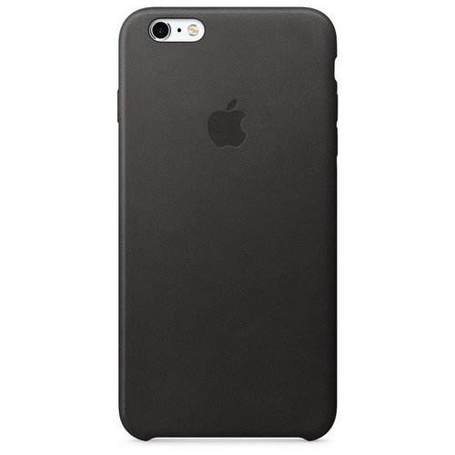 Apple Leather Casing for iPhone 6s Plus - Black