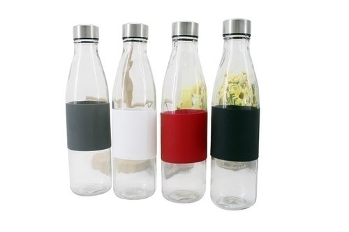 Botol BMG750 Silicon + Lid Stainless 750ml