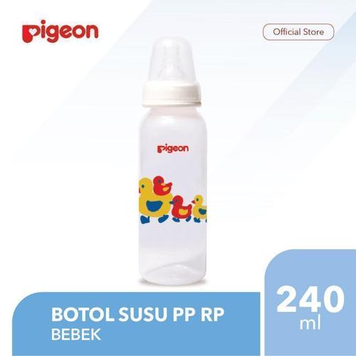 PIGEON Botol Susu PP RP 240Ml - Bebek