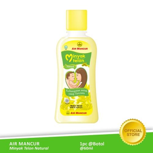 AIR MANCUR Minyak Telon Natural Botol 60 ml
