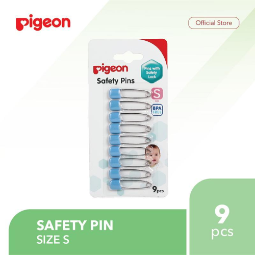 PIGEON Safety Pin Isi 9 Pcs - Size S