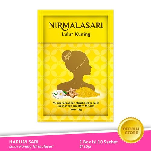 AIR MANCUR Lulur Kuning Nirmalasari Sachet 10x25 gr - Pack