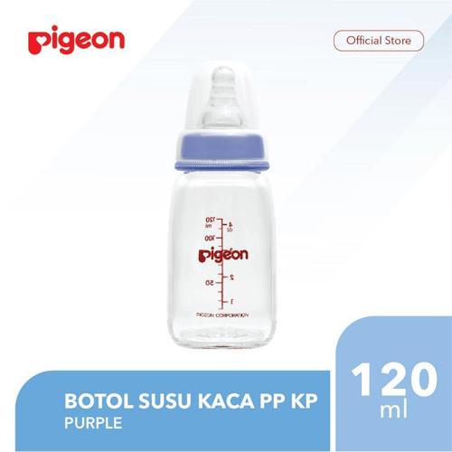 PIGEON Botol Susu Kaca PP KP 120Ml - Purple