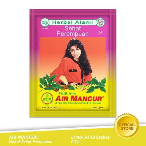 AIR MANCUR Serbuk Sehat Perempuan Sachet 10x7 gr - Pack