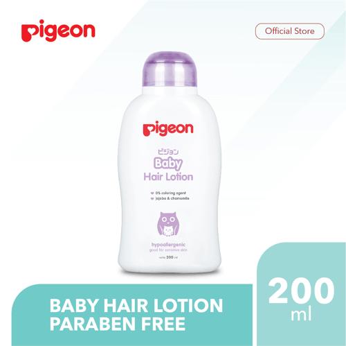 PIGEON Baby Hair Lotion 200Ml - Paraben Free