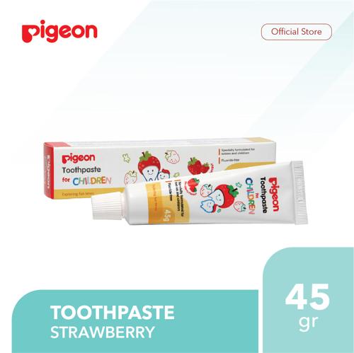 PIGEON Toothpaste Strawberry 45Gr