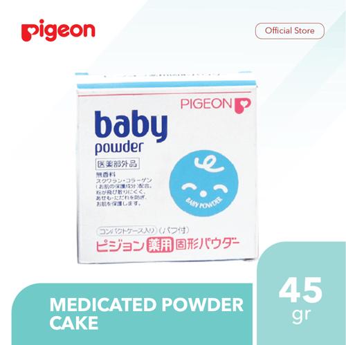 PIGEON Medicated Powder Cake 45Gr