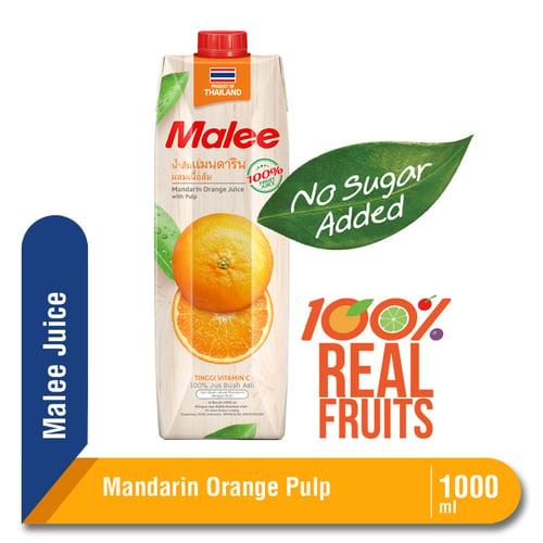 Malee Juice Mandarin Orange Pulp 1000 ml