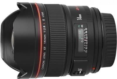 Lens EF 14mm f/2.8L II USM