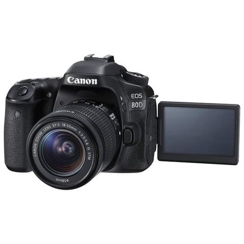 Canon Digital EOS 80D w/ lens 18-55mm IS STM Wifi