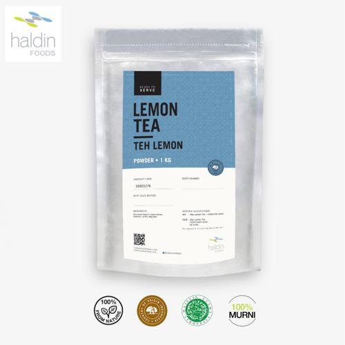 haldinfoods Lemon Tea  Teh Lemon 1 KG