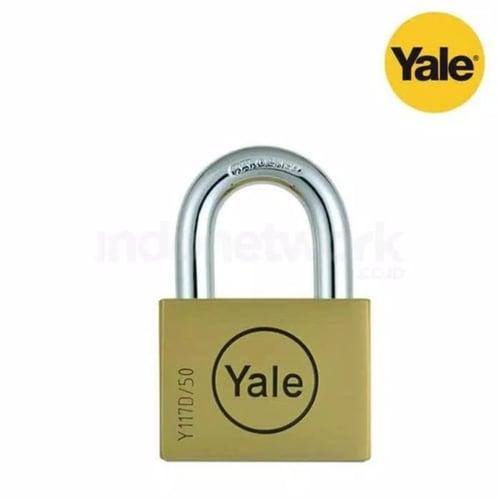 YALE GEMBOK Y117D/50/127/1 DISC RANGE 50MM PADLOCK