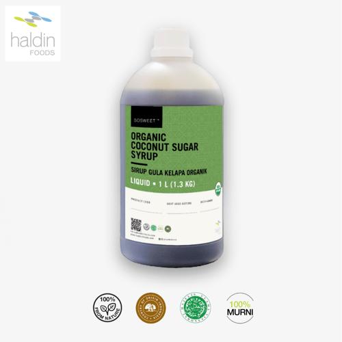 haldinfoods Gula Kelapa Organik Cair Coconut Organic Syrup