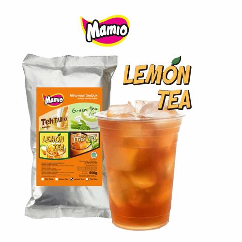 Lemon Tea Mamio Minuman Bubuk 500 gram Isi 10 pcs