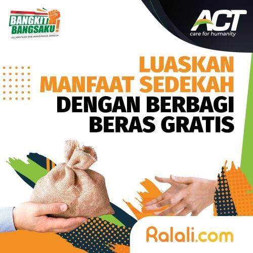 ACT - Sedekah Beras Gratis