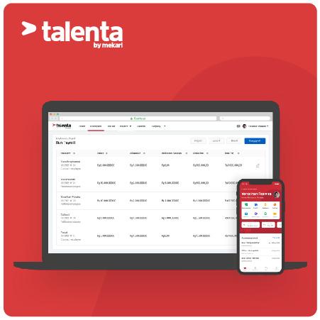 Talenta by Mekari (standard - yearly subscription)