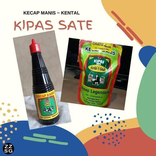 KIPAS SATE Kecap Manis KENTAL 140ml