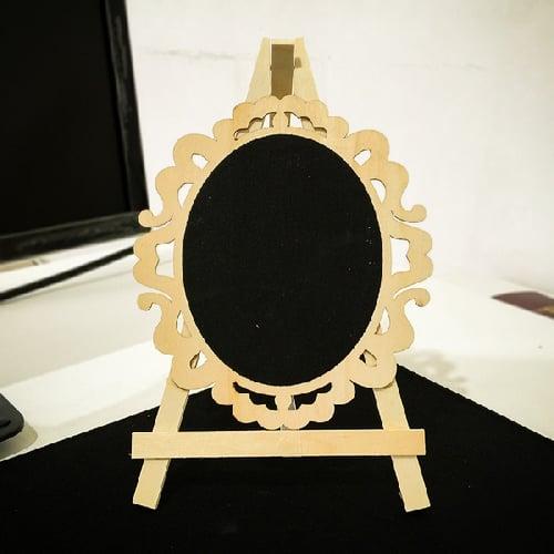 Papan Tulis Mini Oval Kotak Kupu Kupu
