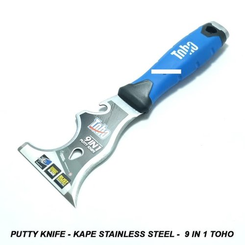Putty Knife Kape Stainless Steel 9 in 1