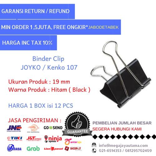 JOYKO 107 Binder Clip Box