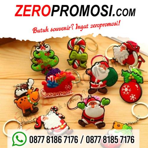 Jual Produk Tempelan Magnet Kulkas Karet Murah untuk Souvenir Natal